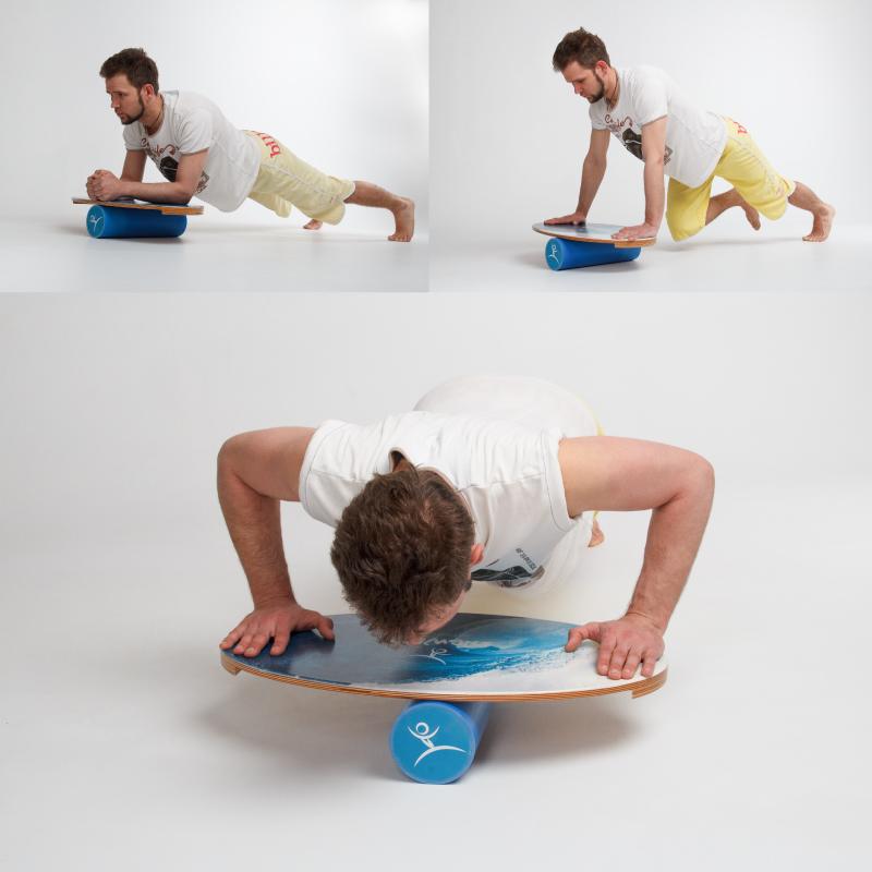 Баланс борд Wave, упражнения