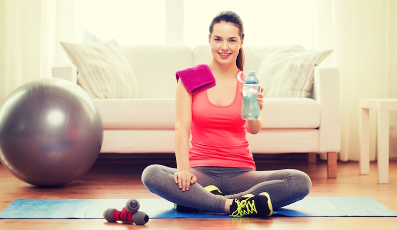 Сколько нужно пить во время фитнеса