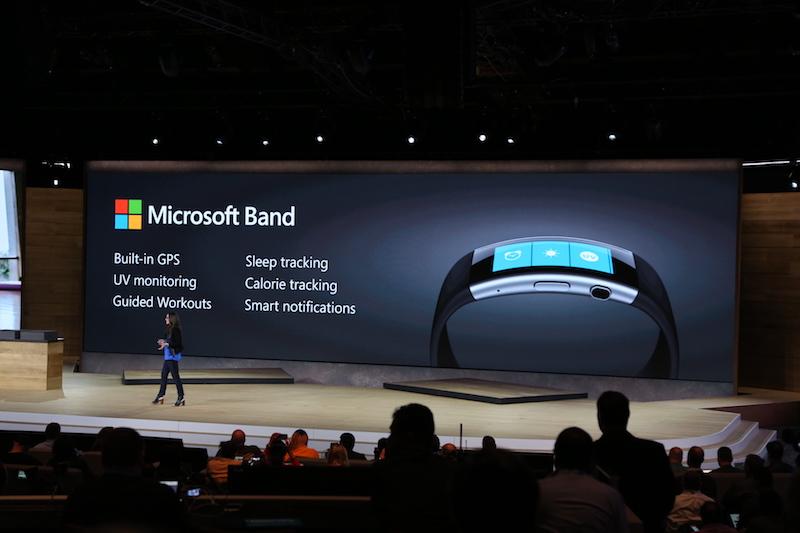 Спортивные трекеры Microsoft и Apple