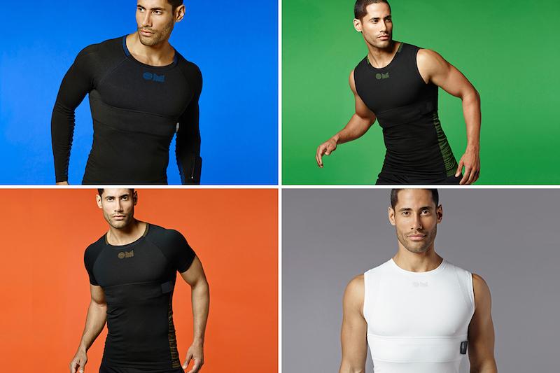 Спортивная одежда с биометрическими функциями