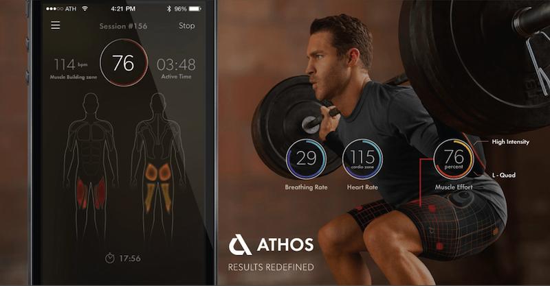 Athos — спортивная одежда будущего