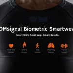 Инновационная футболка Omsignal для спортсменов