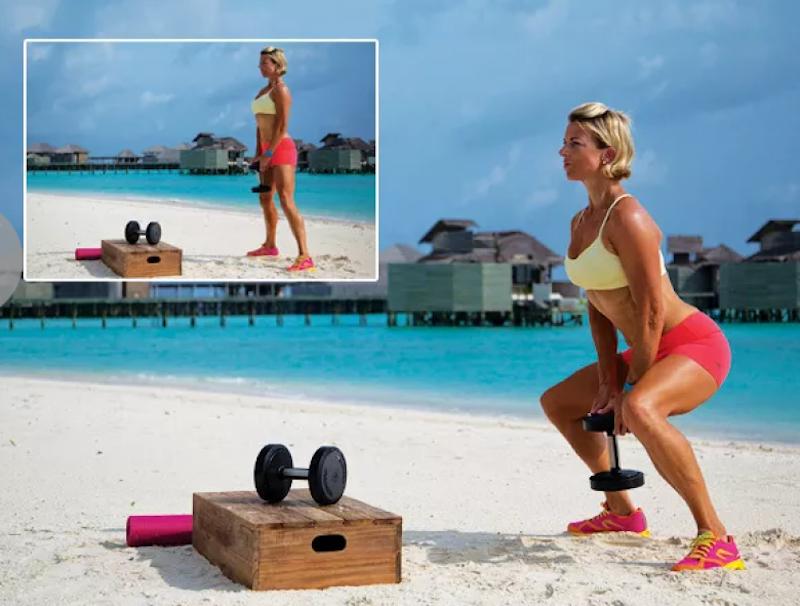 Приседания с гантелями — эффективное упражнение для ног и ягодичных мышц