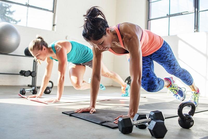 Варианты упражнений для HIIT
