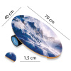 Баланс борд Mountains (Balance Board Training System) с прорезиненным роллером