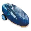 Баланс борд Shark (Balance Board Training System) с прорезиненным роллером