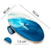 Баланс борд Wave (Balance Board Training System) с прорезиненным роллером