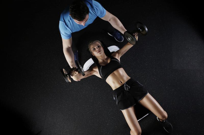 Упражнения для увеличения груди
