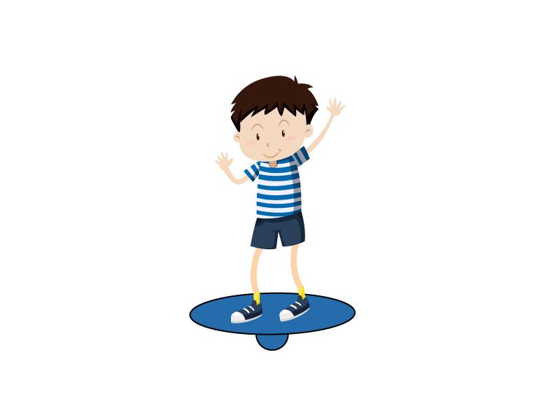 Упражнения на баланс борде для детей