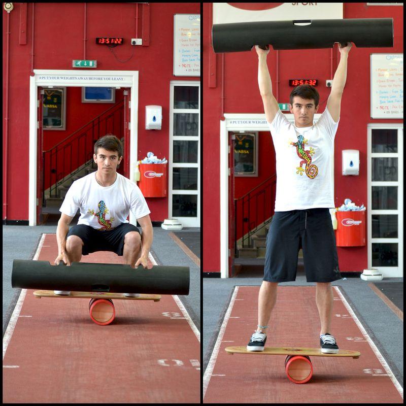 Кроссфит упражнения на баланс борде