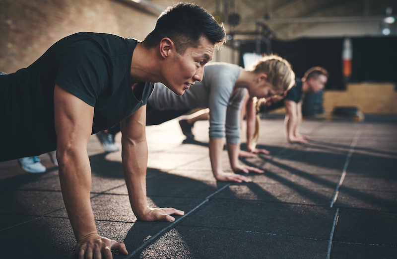 Эффективные упражнения с собственным весом на все тело