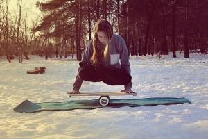 yoga_with_balanceboard