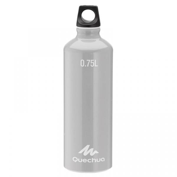 Алюминиевая бутылка Quechua, 0.75 л, Grey