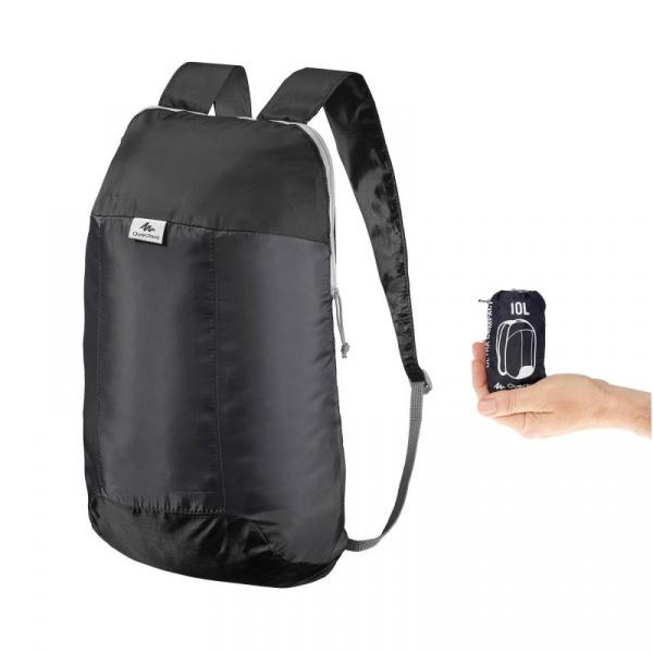 Ультра компактный рюкзак Quechua, 10 л, Black