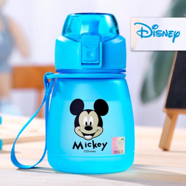 Детская матовая бутылка Disney (Mickey), 390 мл, Blue