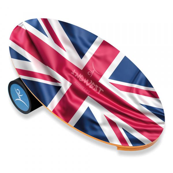 Баланс борд UK (Balance Board Training System) с прорезиненным роллером