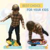 Детский баланс борд Transformer (Kid Balance Board Training System) с роллером