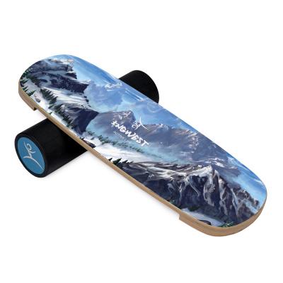 Баланс борд Fantasy mountain (Balance Board Training System) с прорезиненным роллером
