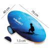 Баланс борд Surfer (Balance Board Training System) с прорезиненным роллером