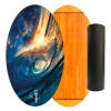 Баланс борд Wave at Sunset (Balance Board Training System) с прорезиненным роллером